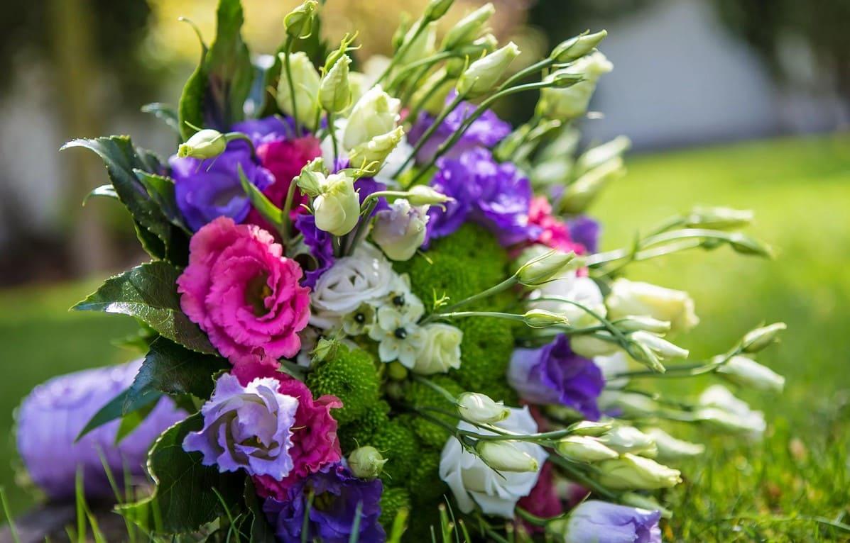 Фото букеты из цветов
