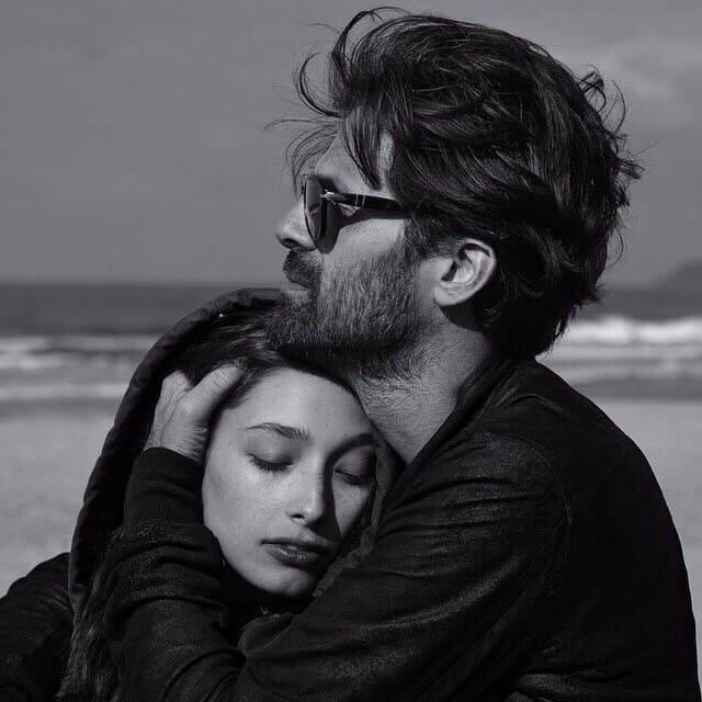 чёрно-белые фото о любви – 09