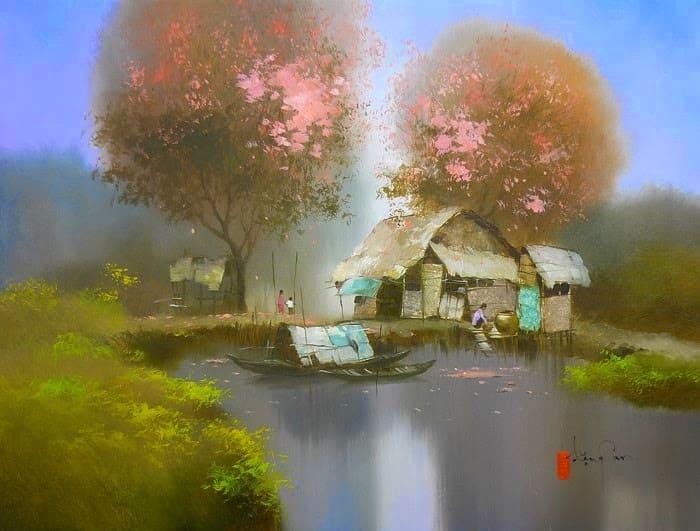 художник Dang Van Can картины – 04