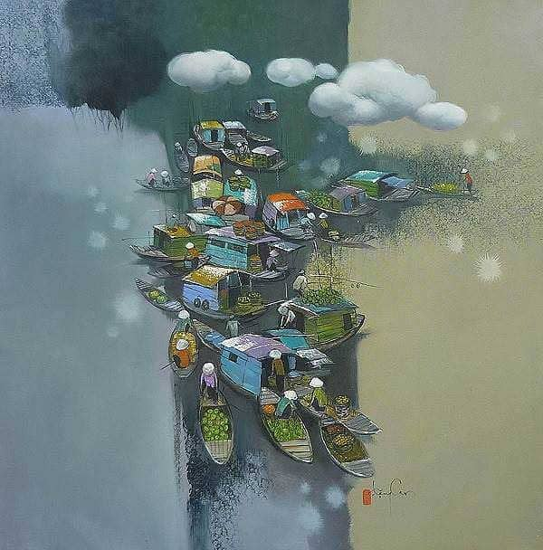 художник Dang Van Can картины – 20