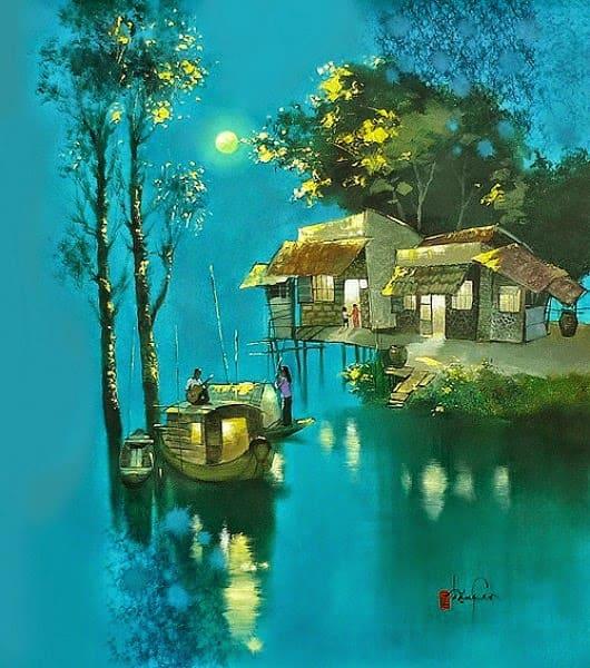 художник Dang Van Can картины – 21