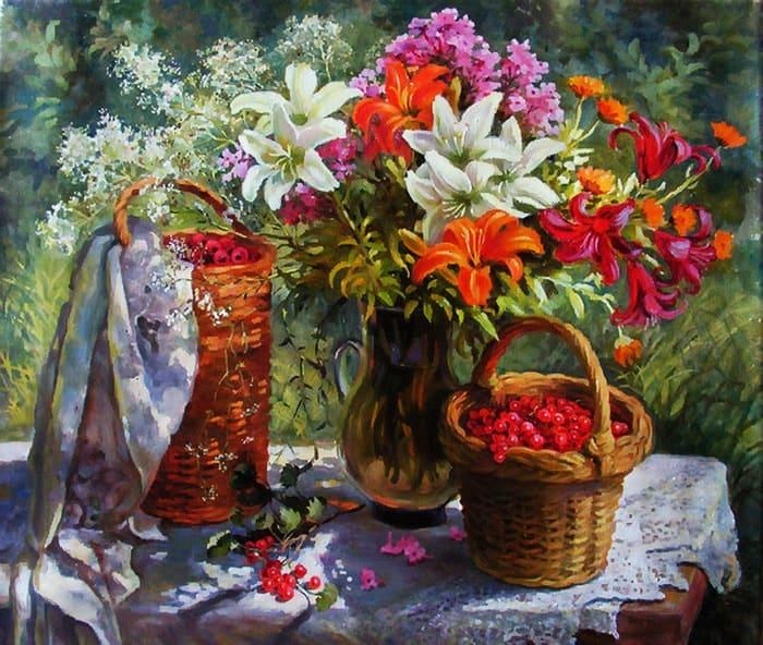 художник Елена Шумакова картины - 18