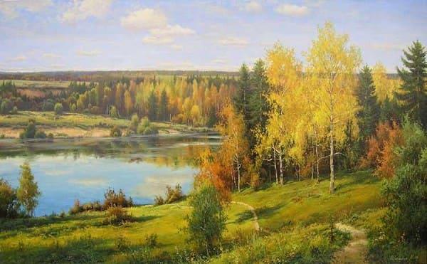 художник Игорь Прищепа картины - 31