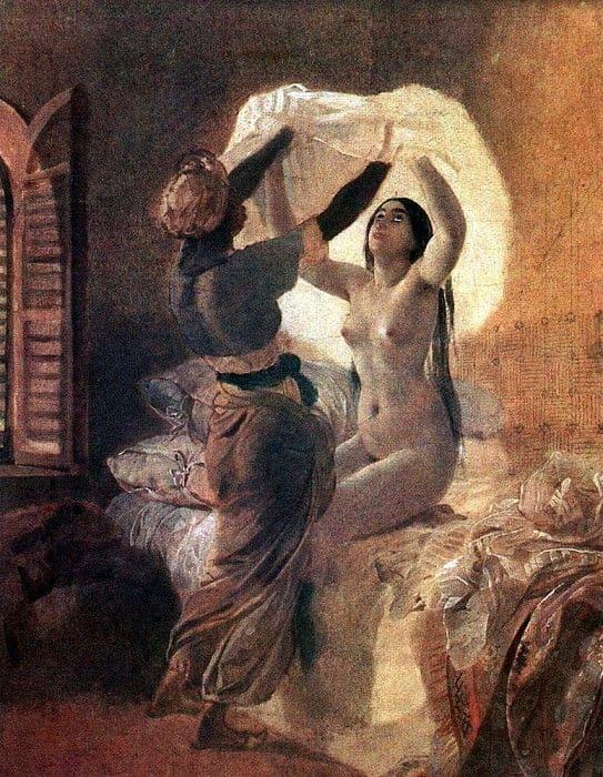 художник Карл Брюллов картины – 15