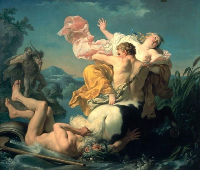 художник Луи Жан-Франсуа Лагрене (Louis Jean François Lagrenee) - 02