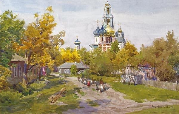 художник Сергей Андрияка картины - 14