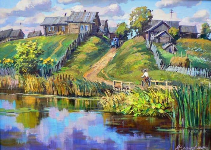 художник Сергей Малов картины - 06