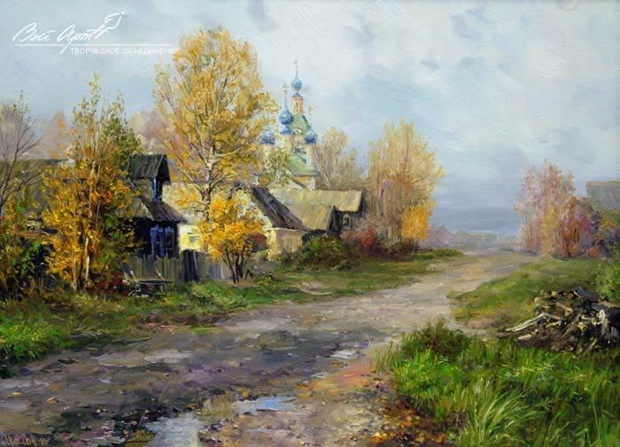 художник Сергей Малов картины - 07