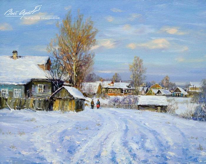 художник Сергей Малов картины - 13
