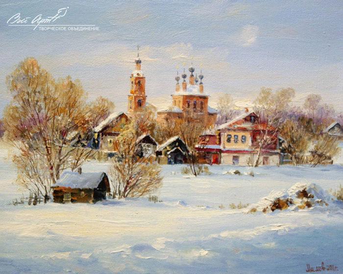 художник Сергей Малов картины - 16