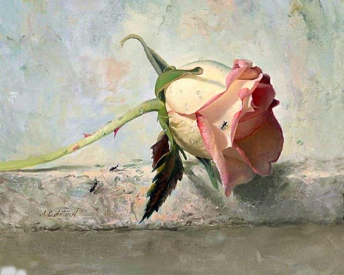 розы в живописи - 02