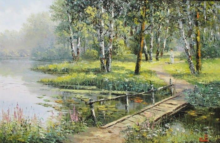 художник Евгений Синев картины - 12