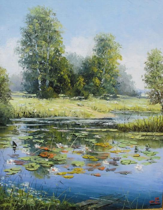 художник Евгений Синев картины - 28