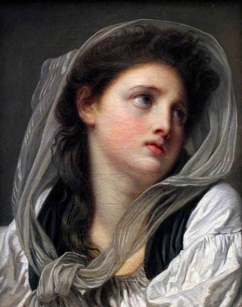 художник Жан-Батист Грёз (Jean-Baptiste Greuze) картины - 26
