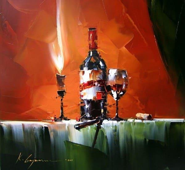 художник Кал Гаджум (Kal Gajoum) картины - 29