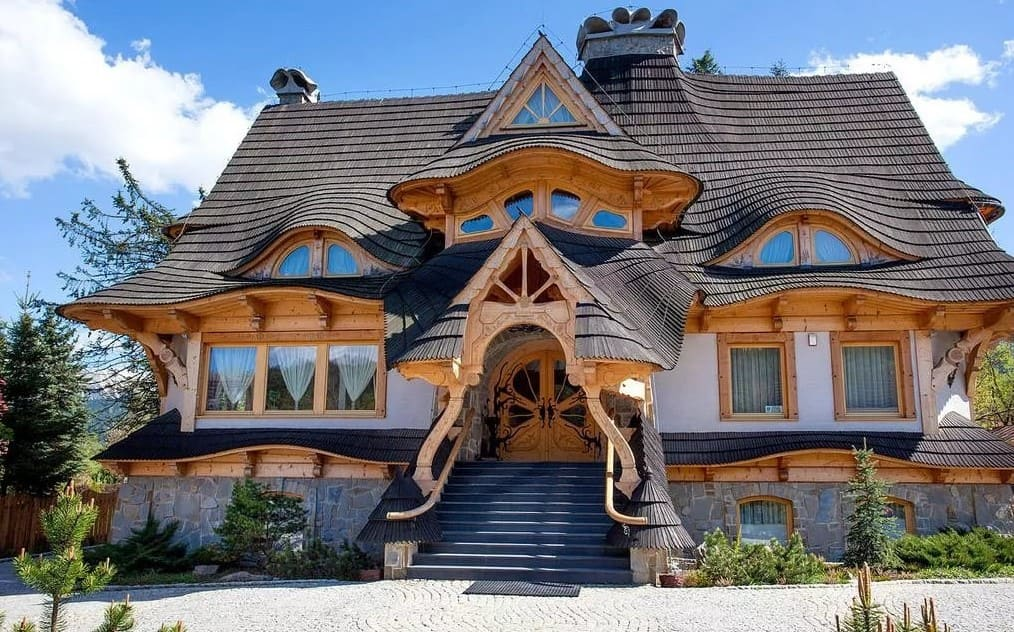 красивые дома фото - 10