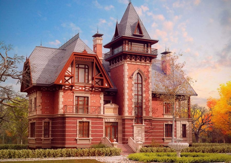 красивые дома фото - 17