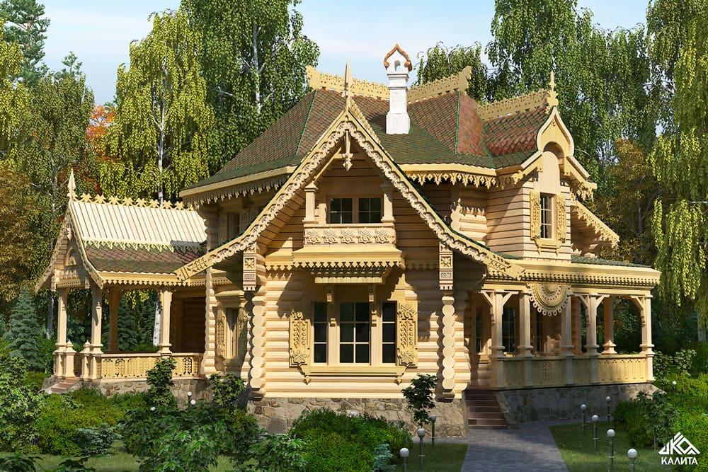 красивые дома фото - 19