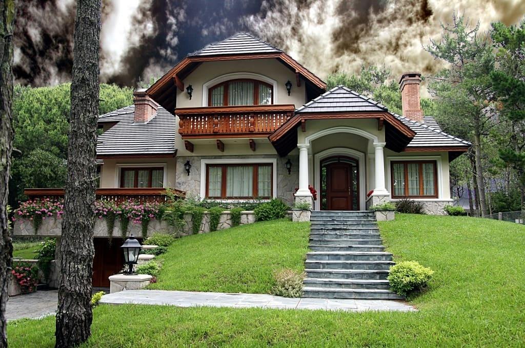 красивые дома фото - 49