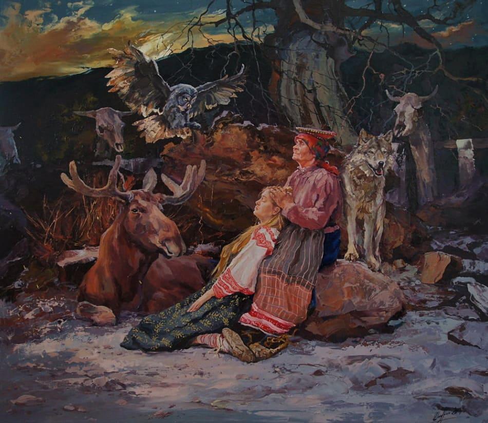 художник Александр Шадрин картины – 19