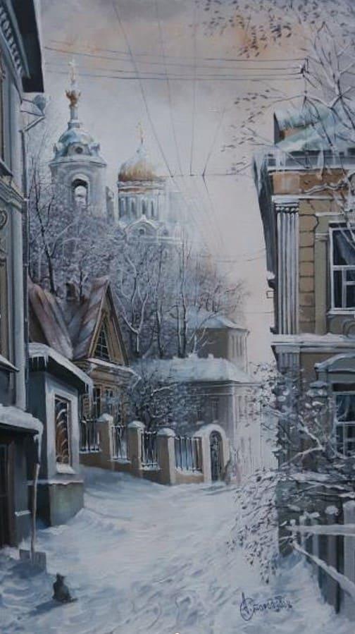 художник Александр Стародубов картины - 29