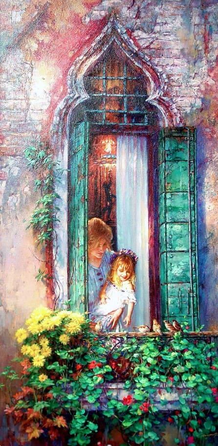 художник Цао Йен (Cao Yong) картины – 13
