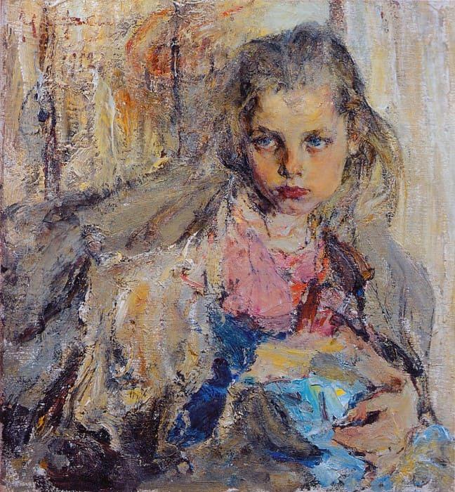 художник Николай Иванович Фешин картины - 27
