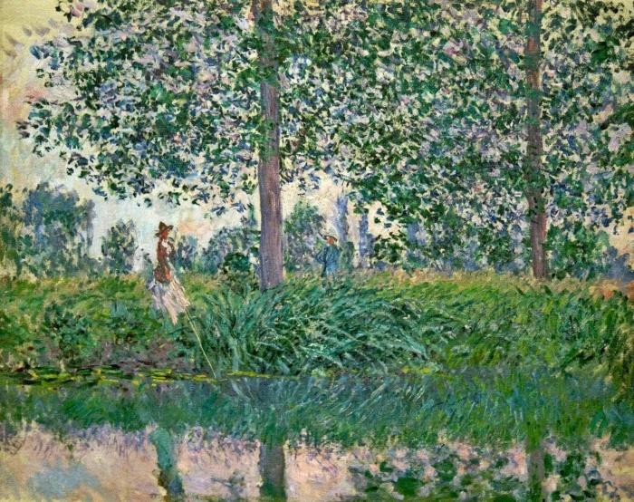 художник Оскар Клод Моне (Oscar-Claude Monet) картины – 11