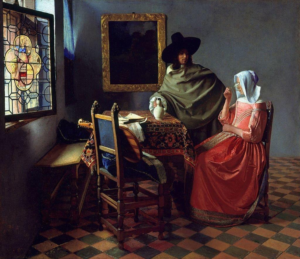 все картины художника Яна Вермеера (Jan Vermeer van Delft) – 07