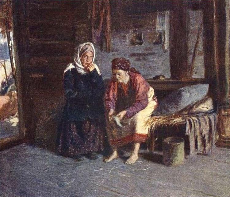 художник Абрам Ефимович Архипов картины – 06