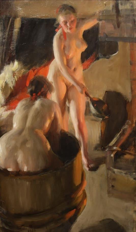 художник Андерс Цорн (Anders Leonard Zorn) картины – 09