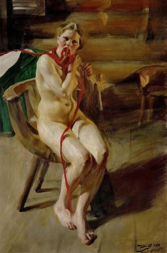 художник Андерс Цорн (Anders Leonard Zorn) картины – 15