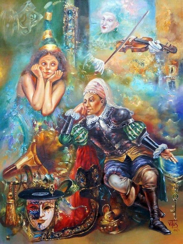 художник Виталий Жук (Witali Żuk (Vitus) картины – 19