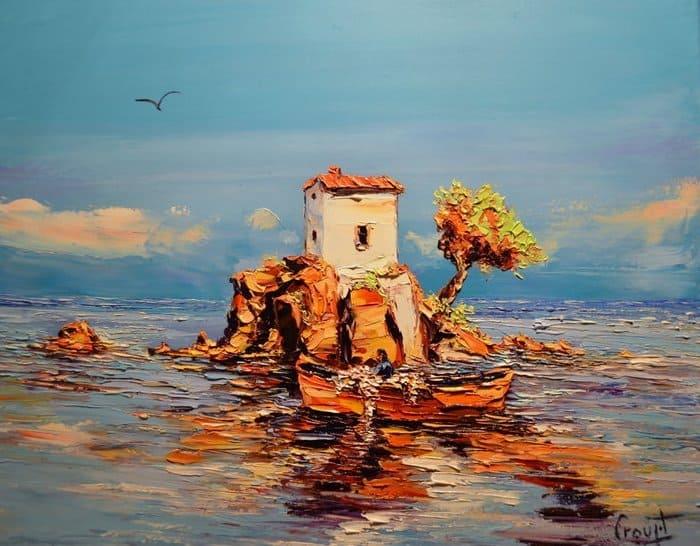 художник Gérard Crouzet картины – 10