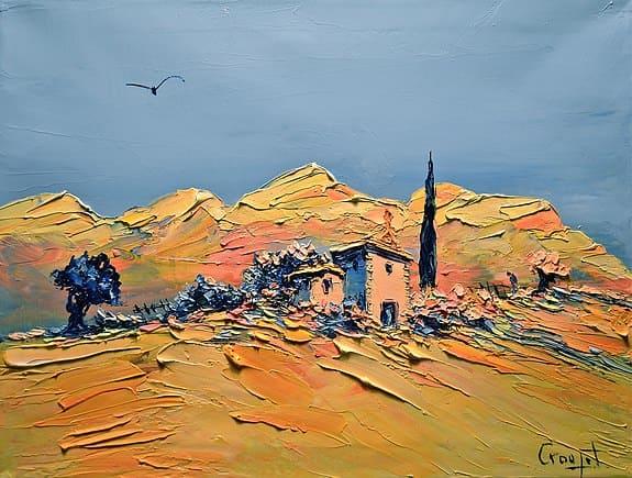 художник Gérard Crouzet картины – 13