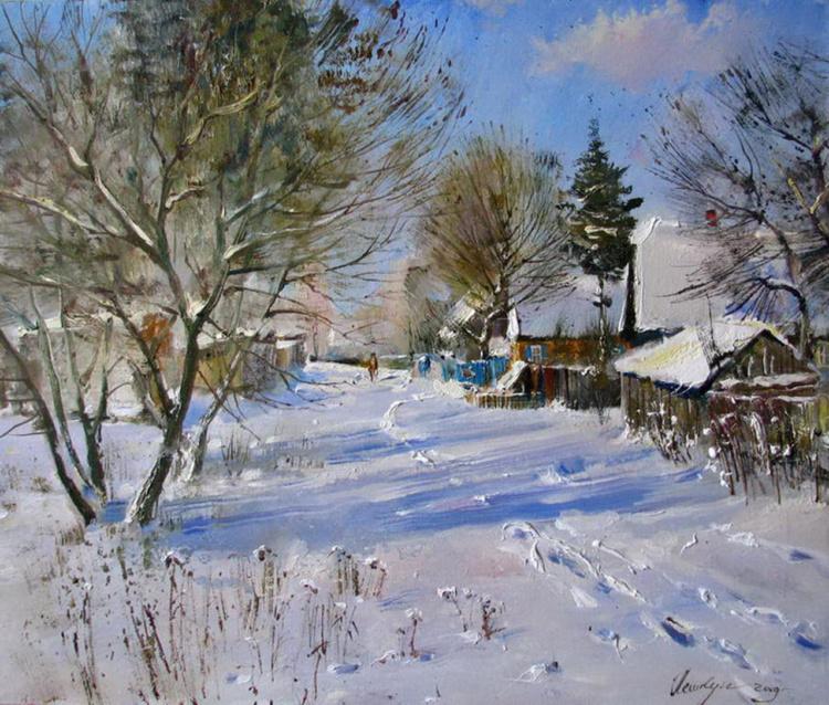 художник Василий Пешкун картины – 11