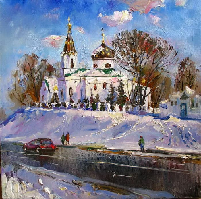 художник Василий Пешкун картины – 14
