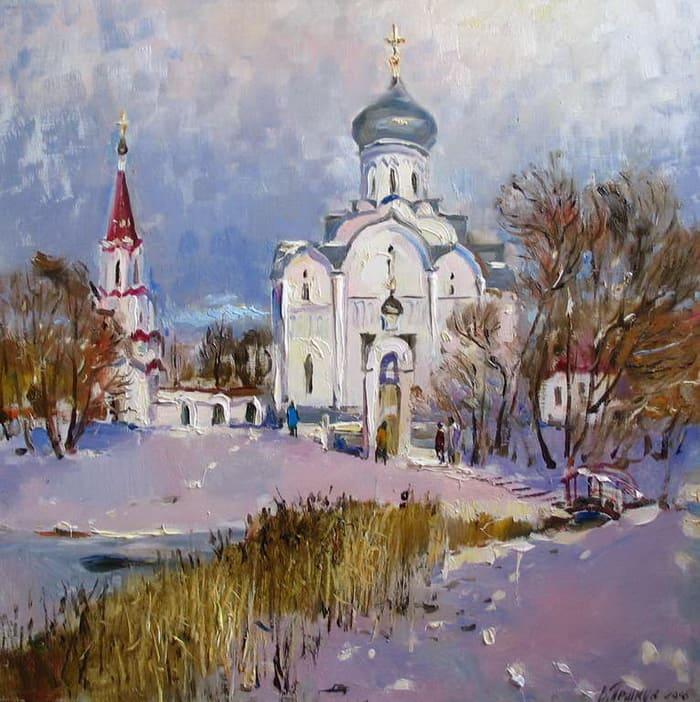художник Василий Пешкун картины – 15