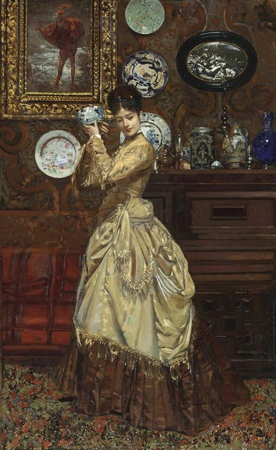 художник Эдуард Рихтер (Edouard Richter) картины – 14