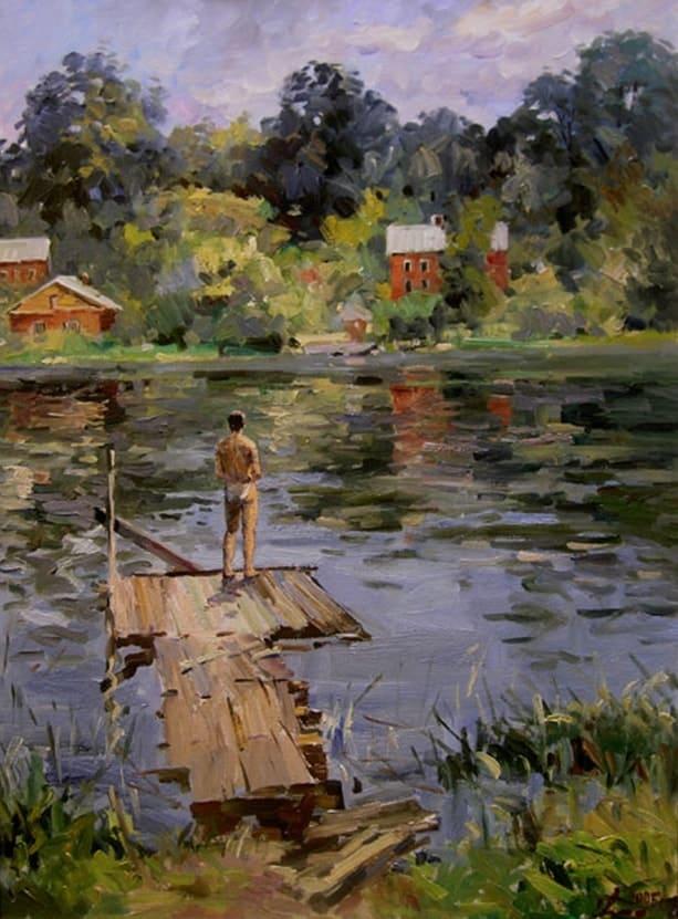 художник Евгений Малых картины – 11
