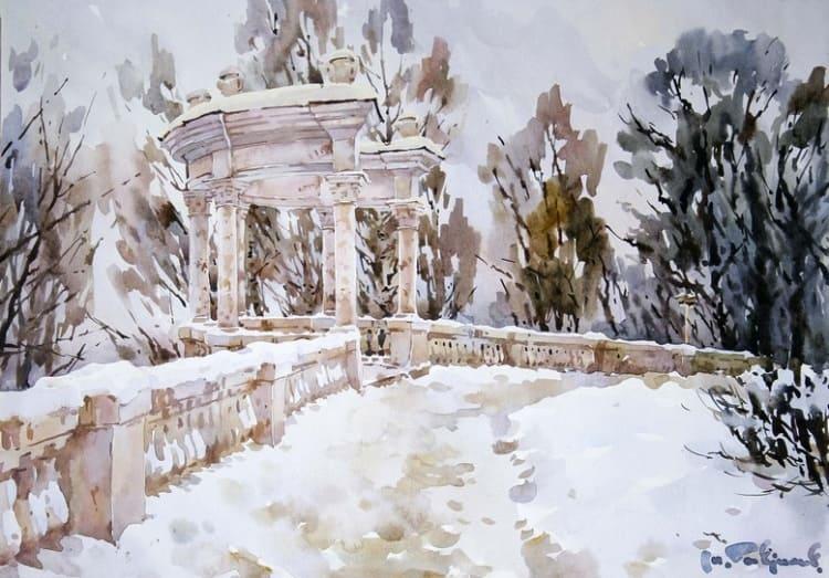 художник Модест Гаврилов (Modest Gavrilov) картины – 02