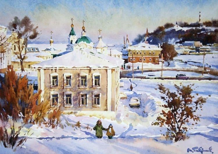 художник Модест Гаврилов (Modest Gavrilov) картины – 05