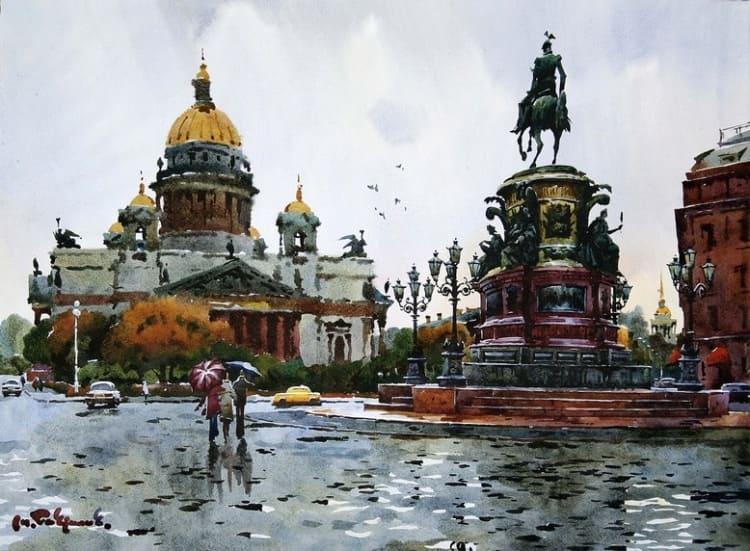 художник Модест Гаврилов (Modest Gavrilov) картины – 09