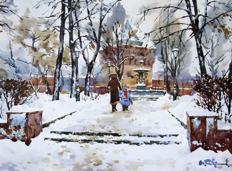 художник Модест Гаврилов (Modest Gavrilov) картины – 12