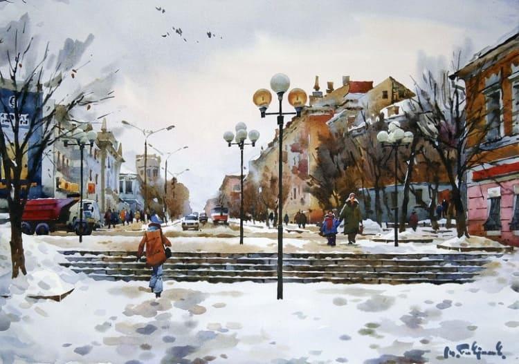 художник Модест Гаврилов (Modest Gavrilov) картины – 20