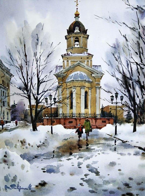 художник Модест Гаврилов (Modest Gavrilov) картины – 24