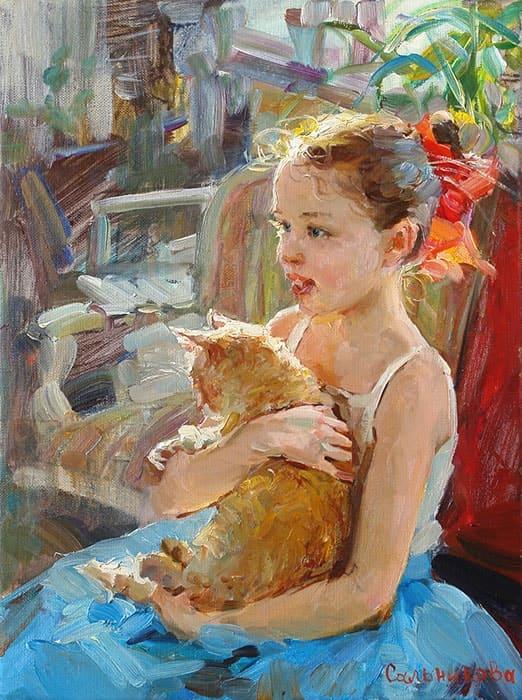художник Елена Сальникова картины – 23