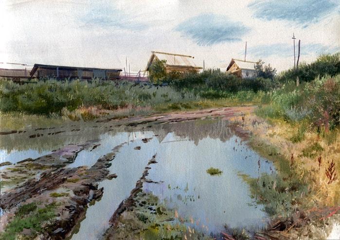 художник Григорий Лозинский картины – 12