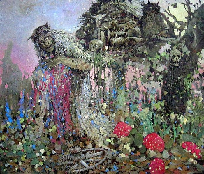 художник Станислав Крупп (Stanislaw Krupp) картины – 04