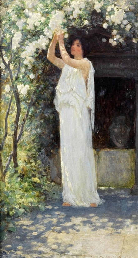 художник William Henry Margetson (Вильям Генри Маргесон) картины – 15